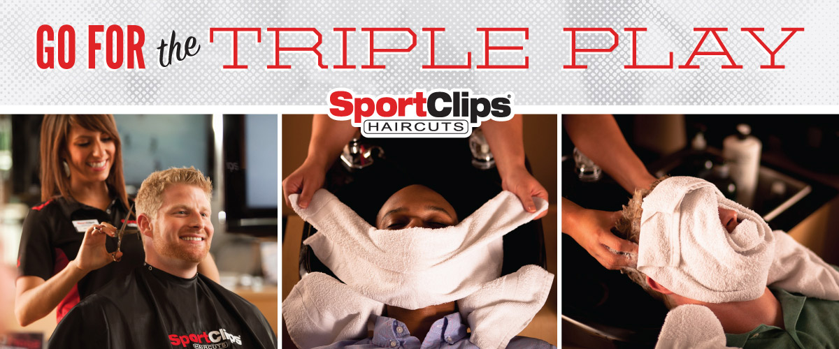 The Sport Clips Haircuts of Simi Valley  Triple Play